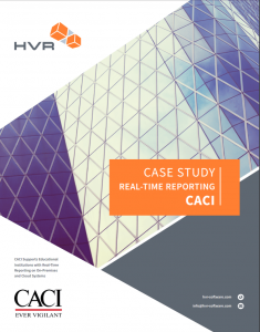 CACI uses HVR for its real time date warehouse