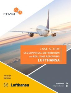 Lufthansa uses HVR for real-time reporting
