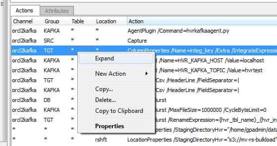 Screenshot Expand to Create Table-level Actions