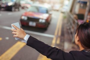 real time data powers taxi apps