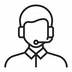 call center person icon