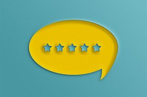5 Star Customer Review graphic