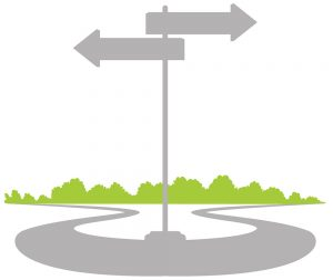 Paths and decisions at work